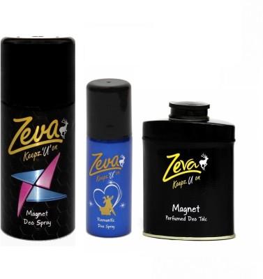 Zeva Keepz U On zeva deodorant men & women bodyspray unisex gift set combo set Gift Set  Combo Set