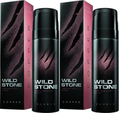 Wild Stone Copper Deodorant Spray Combo Set(Set of 2)
