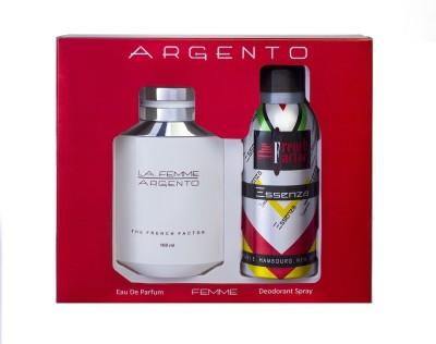 French Factor La Femme Argento Gift Set