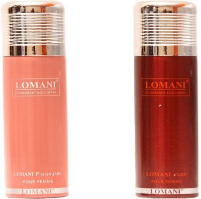 Lomani Pleasures,Rush Combo Set