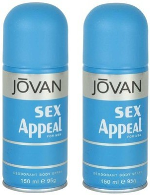 Jovan Sex Appeal and Sex Appeal Combo Set