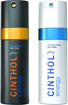 Cinthol Deo Spray - Intense + Energy Combo Set