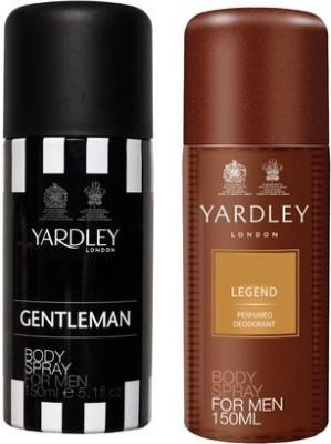 Yardley Gentleman and Legend Combo Set