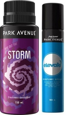 Park Avenue Elevate , Storm Deodorant Spray Combo Set