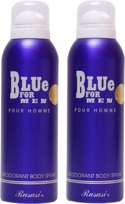 Rasasi Blue For Men Combo Set