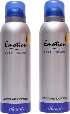 Rasasi Emotion Men Combo Set