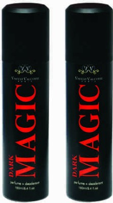 Vincent Valentine Paris Set of 2 Dark Magic Deodorants Combo Set