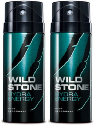 Wild Stone Hydra Energy Deodorant Spray Combo Set(Set of 2)