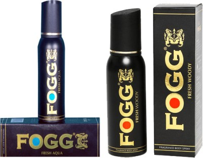 Fogg Fresh Aqua and Woody Combo Set