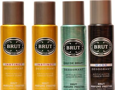 Brut Instinct,Eau De Brut,Musk Combo Set