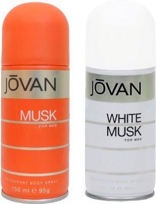 Jovan Musk and White Musk Combo Set