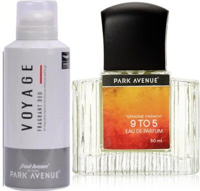 Park Avenue Voyage Deodorant ,9 to 5 EDP Combo Set