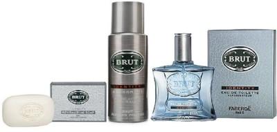 Brut Identity Soap 125gm, Deo 200ml, EDT 100ml Gift Set