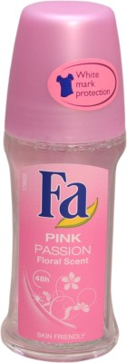 Fa PINK PASSION Deodorant Roll-on  -  For Girls, Women