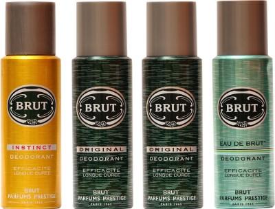 Brut Instinct,Original,Eau De Brut Combo Set