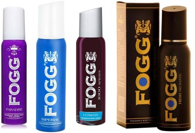 Fogg Fragrance Segment Mass Premium, Deodorant Spray and Recommended for Daily Wear Combo Set
