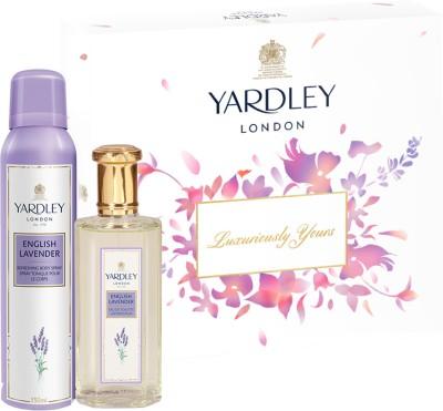 Yardley London English Lavender Gift Pack Gift Set(Set of 2)
