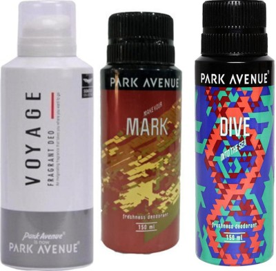 Park Avenue Voyage,Dive and Mark Combo Set