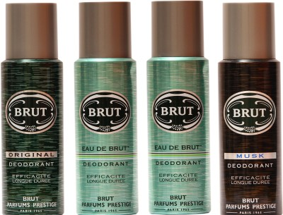 Brut Eau De Brut,Original,Musk Combo Set