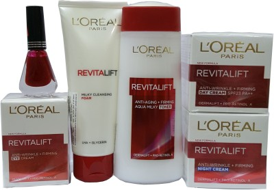 L,oreal Paris Revitalift Anti-Wrinkle+Firming combo with offer Combo Set