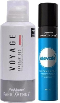 Park Avenue Elevate , Voyage Deodorant Spray Combo Set