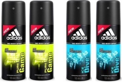 Adidas Combo Set(Set of 4) at flipkart