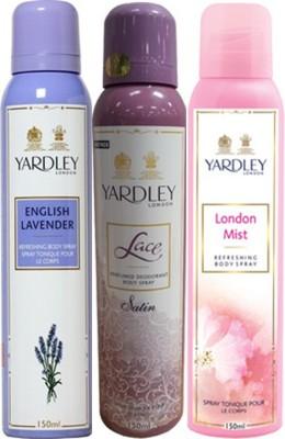 Yardley Deodorants combo No-83 Combo Set