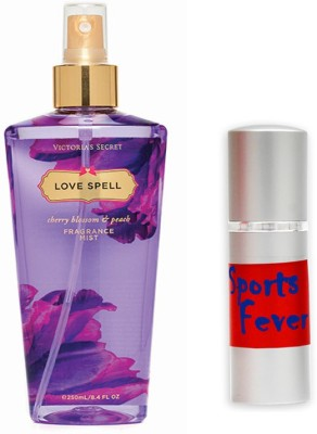 Victoria's Secret Love Spell and Sports Fever Combo Set