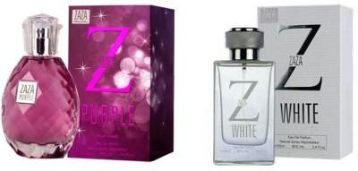 Zaza Purple & White Gift Set