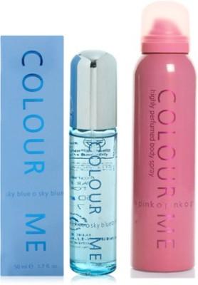 Colour Me Skyblue-Pink Combo Set