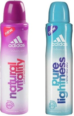 Adidas Natural Vitality and Pure Lightness Combo Set