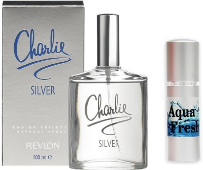 Revlon Charlie Silver Perfume And Aqua Fresh Combo Set