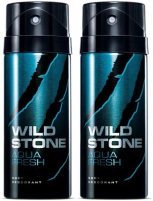 Wild Stone Aqua Fresh Deodorant Spray Combo Set