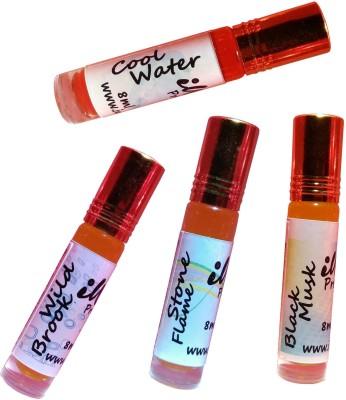 Iwill Non Alcoholic Perfumes Floral Attar Fancy Ittar 32 ml Combo Set