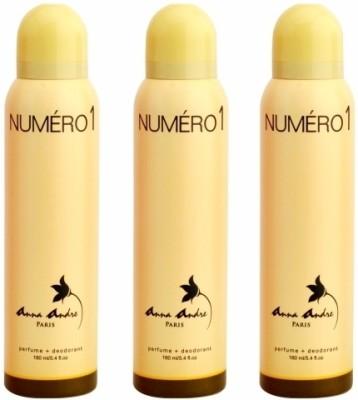Anna Andre Paris Numero 1 Deodorants Combo Set