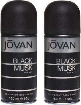 Jovan Black Musk and Black Musk Combo Set