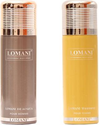 Lomani Di Acqua::Weekend Combo Set