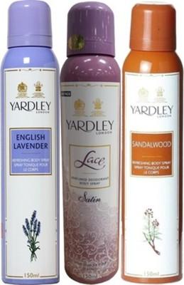 Yardley Deodorants combo No-80 Combo Set
