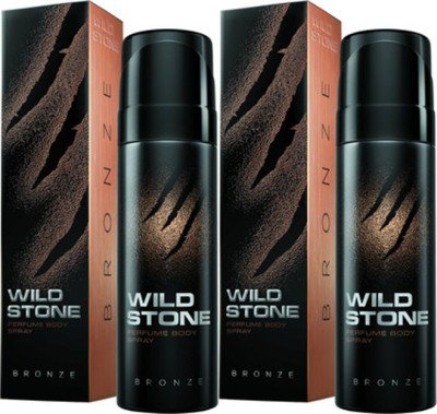 Wild Stone Bronze Deodorant Spray Combo Set