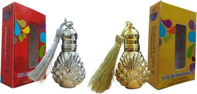 Kr Attarwala Golden Musk Attar Gift Set  Combo Set