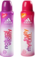 Adidas Fruity Rhythm and Natural Vitality Combo Set(Set of 2)