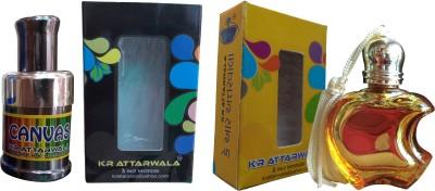 Kr Attarwala Second Natural Fancy Series Of Super Premium Attars Gift Set