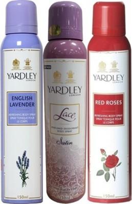 Yardley Deodorants combo No-82 Combo Set