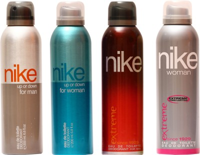 Nike Up or Down Man Up or Down Woman Extreme Man Extreme Woman Combo Set(Set of 4)