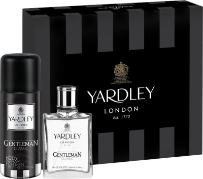 Yardley London Gentleman Classic Gift Pack Gift Set(Set of 2)