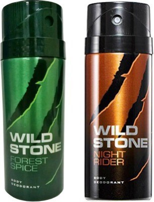 Wild Stone Forest Spice And Night Rider Combo Set