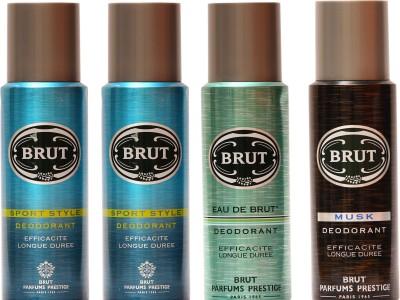Brut Sports,Eau De Brut,Musk Combo Set