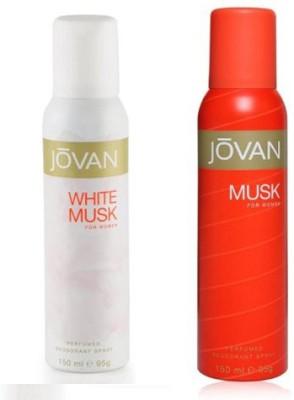 Jovan White & Musk Combo Set