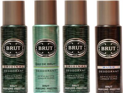 Brut Original,Eau De Brut,Musk Combo Set