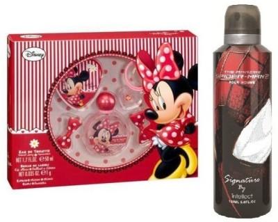 Disney Minnie_spiderman Signature Combo Set